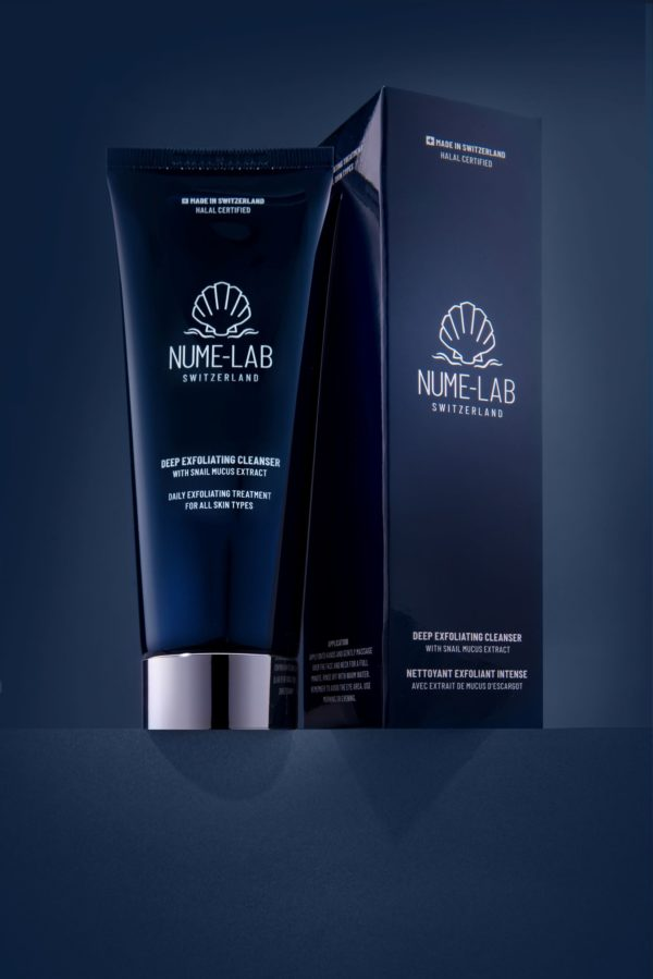 0003 NUME-Lab Deep Exfoliating Cleanser Back