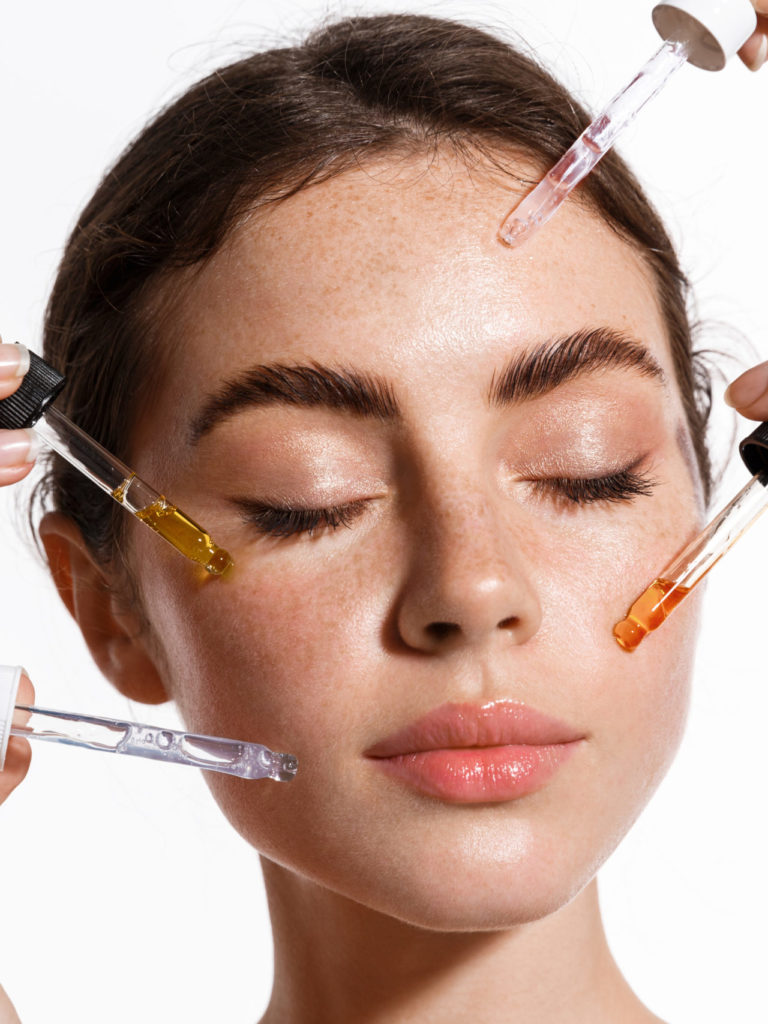 Facial Face Treatment numelab Switzerland woman
