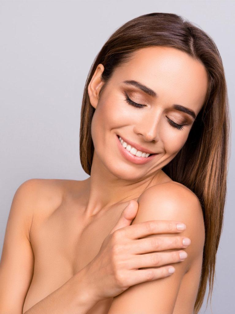 skin firming skincare numelab switzerland texture woman