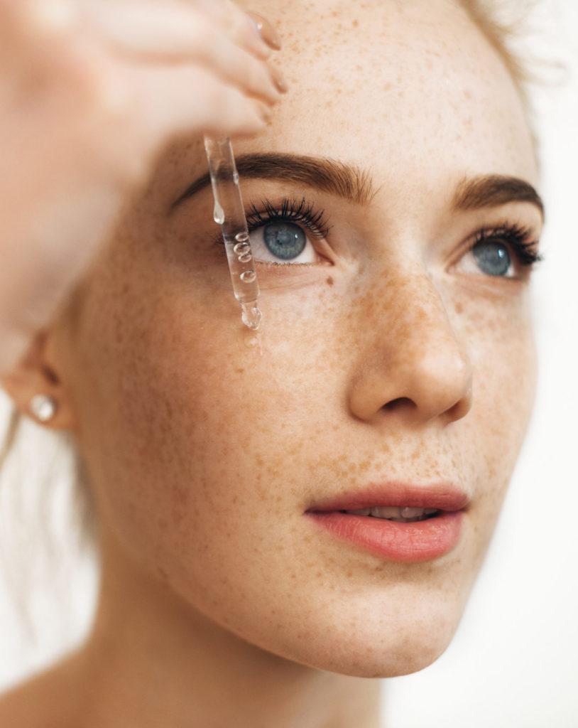 Niacinamide gel texture skincare brand numelab switzerland