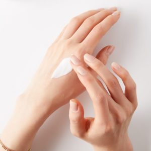 dry skin texture woman numelab hands