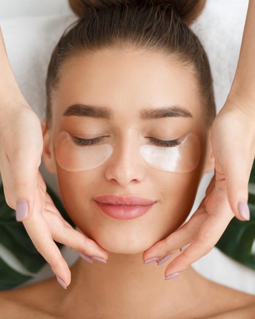 eye treatment numelab skincare woman spa